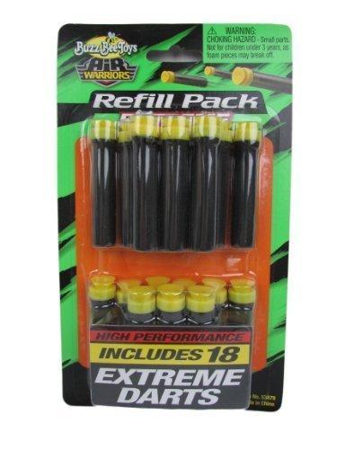 バズビー ブラスター アメリカ 直輸入 ソフトダーツ Buzz Bee Toys Air Warriors Extreme Darts Refill (Pack of 18) by Buzz Beeバズビー ブラスター アメリカ 直輸入 ソフトダーツ