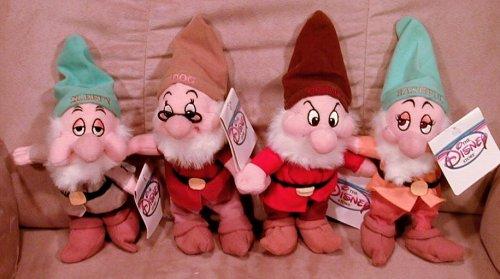 白雪姫 スノーホワイト ディズニープリンセス Disney's Set Snow White's Dwarfs Sleepy, Doc, Grumpy and Bashful白雪姫 スノーホワイト ディズニープリンセス