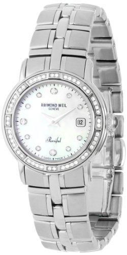 レイモンドウィル 腕時計 レディース スイスの高級腕時計 9441-STS-97081 【送料無料】Raymond Weil Women's 9441-STS-97081 Parsifal Mother-of-Pearl Dial Watchレイモンドウィル 腕時計 レディース スイスの高級腕時計 9441-STS-97081