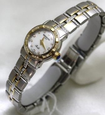 レイモンドウィル 腕時計 レディース スイスの高級腕時計 9440LTE00029 【送料無料】Raymond Weil Watches Parcifal Steel and 18k Gold Mother of Pearl Dial DiamHour Markers Diam Bezel レイモンドウィル 腕時計 レディース スイスの高級腕時計 9440LTE00029