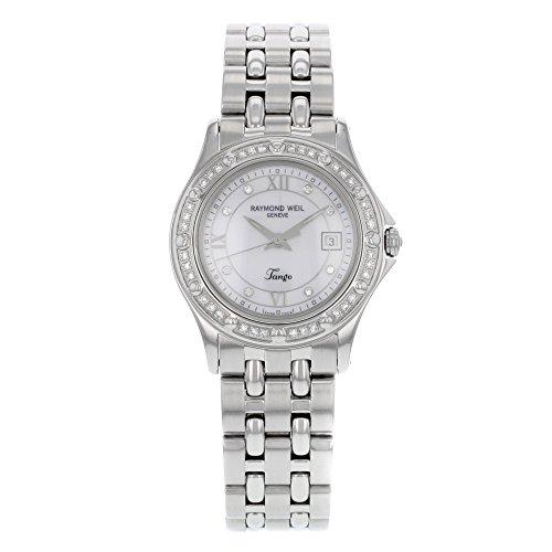 レイモンドウィル 腕時計 レディース スイスの高級腕時計 5390-STS-00995 【送料無料】Raymond Weil Tango Diamond Stainless Steel Ladies Watch 5390-STS-00995レイモンドウィル 腕時計 レディース スイスの高級腕時計 5390-STS-00995