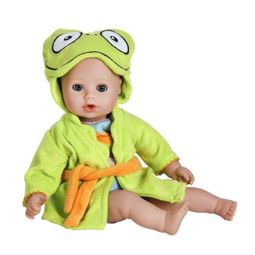 """アドラベビードール 赤ちゃん リアル 本物そっくり おままごと 20253002 Adora BathTime Baby """"Frog"""" 13"""