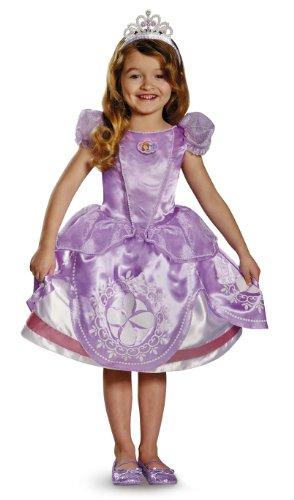 ちいさなプリンセス ソフィア ディズニージュニア 56722M Disney Junior Sofia the First Deluxe Girls' Costumeちいさなプリンセス ソフィア ディズニージュニア 56722M