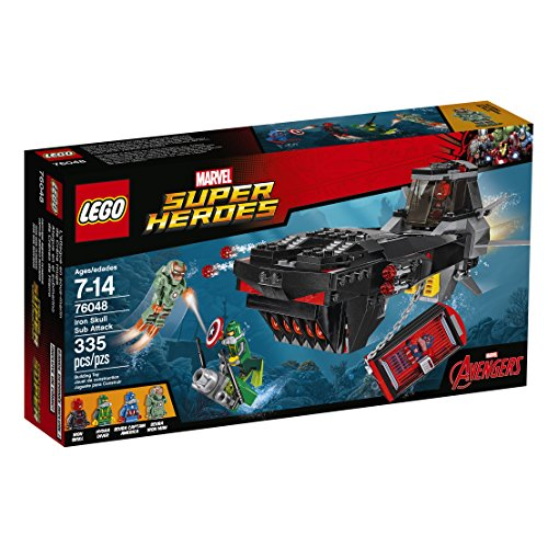 レゴ スーパーヒーローズ マーベル DCコミックス スーパーヒーローガールズ 6137813 LEGO Super Heroes Iron Skull Sub Attack 76048レゴ スーパーヒーローズ マーベル DCコミックス スーパーヒーローガールズ 6137813