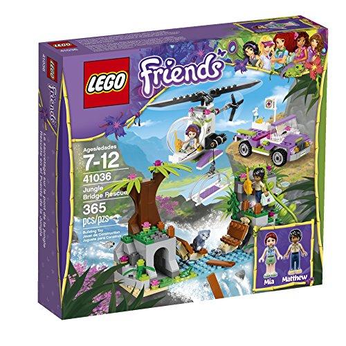 レゴ フレンズ 6061778 【送料無料】Lego Friends Jungle Bridge Rescue 41036 Building Setレゴ フレンズ 6061778