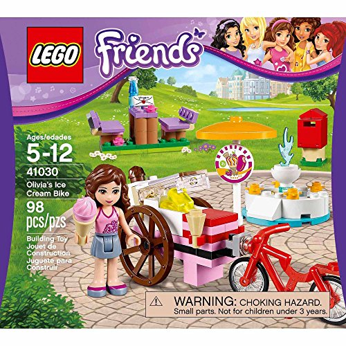 レゴ フレンズ 6061765 【送料無料】LEGO Friends Olivia's Ice Cream Bike 41030 Building Setレゴ フレンズ 6061765