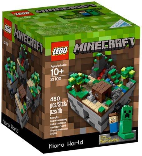 レゴ マインクラフト NEW LEGO CUUSOO MINECRAFT MICRO WORLD 21102 sealed nib nisb rare exclusive mobsレゴ マインクラフト, スポーツ用品B.B.T. 8bf0d7a8
