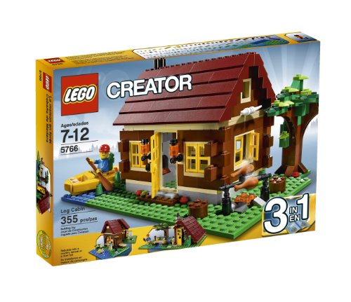 レゴ クリエイター 4610914 【送料無料】LEGO Creator Log Cabin 5766 (Discontinued by manufacturer)レゴ クリエイター 4610914