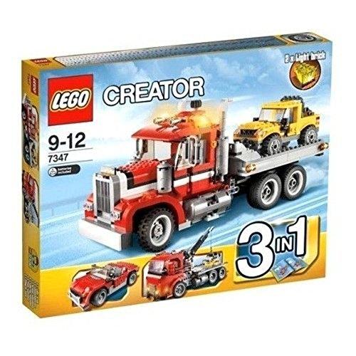 レゴ クリエイター 7347 【送料無料】LEGO CREATOR 3-in-1 Highway Semi Pickup Truck Building Set w/ Lights | 7347レゴ クリエイター 7347