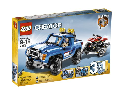 レゴ クリエイター 4567224 LEGO Offroad Power 5893レゴ クリエイター 4567224