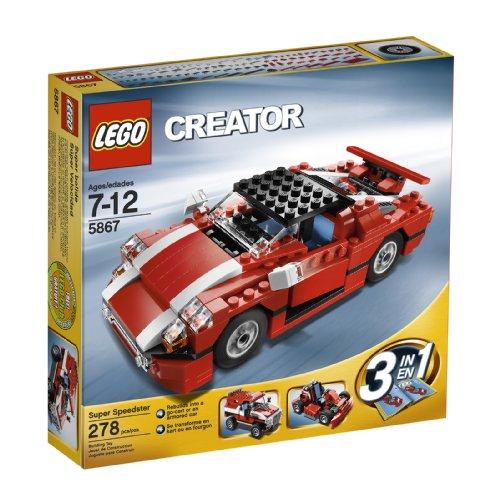 レゴ クリエイター 4567211 LEGO Creator Red Car (5867)レゴ クリエイター 4567211