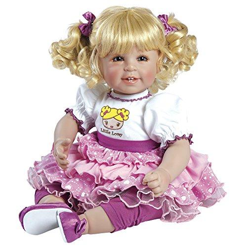 アドラベビードール 赤ちゃん リアル 本物そっくり おままごと 20016012 Adora Toddler Little Lovey 20