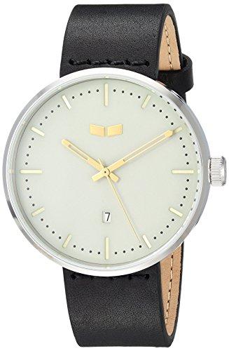 ベスタル ヴェスタル 腕時計 メンズ RS42L10.BK Vestal Roosevelt Italian Leather Stainless Steel Quartz Watch Calfskin Strap, Black, 20 (Model: RS42L10.BK)ベスタル ヴェスタル 腕時計 メンズ RS42L10.BK