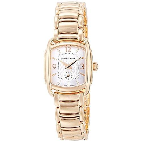 ハミルトン 腕時計 レディース 夏のボーナス特集 H12341155 Hamilton Bagley Quartz Movement Mother of Pearl Dial Ladies Watch H12341155ハミルトン 腕時計 レディース 夏のボーナス特集 H12341155