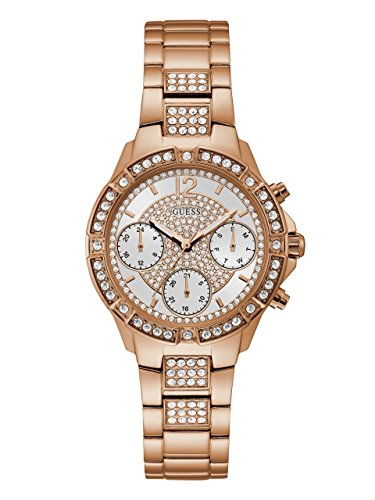 ゲス GUESS 腕時計 レディース U1071L3 【送料無料】GUESS Women's Stainless Steel Crystal Watch, Color: Rose Gold-Tone (Model: U1071L3)ゲス GUESS 腕時計 レディース U1071L3