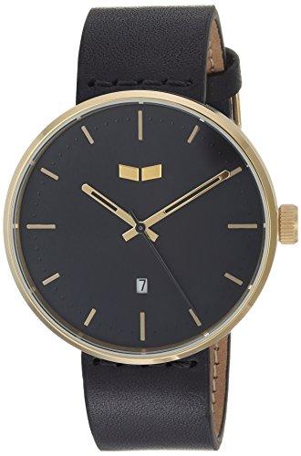 ベスタル ヴェスタル 腕時計 メンズ RS42L06.BK Vestal Roosevelt Italian Leather Stainless Steel Quartz Watch Calfskin Strap, Black, 20 (Model: RS42L06.BK)ベスタル ヴェスタル 腕時計 メンズ RS42L06.BK