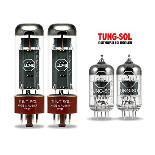 最新 真空管 ギター・ベース For アンプ Kit 海外 輸入 EL34B 12AX7 EL34B【送料無料】Tung-Sol Tube Upgrade Kit For Gibson Bass 50 Amps EL34B 6EU7真空管 ギター・ベース アンプ 海外 輸入 EL34B 12AX7, サンゴウチョウ:096f3fa1 --- mail.freshlymaid.co.zw