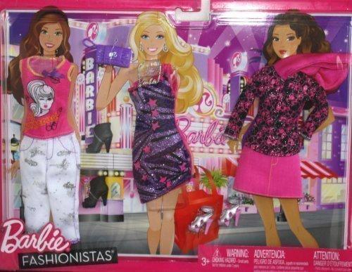 バービー バービー人形 着せ替え 衣装 ドレス T4895 Barbie Fashionistas Clothing Packバービー バービー人形 着せ替え 衣装 ドレス T4895