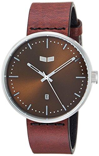 ベスタル ヴェスタル 腕時計 メンズ RS42L04.CVBK Vestal Roosevelt Italian Leather Stainless Steel Quartz Watch Calfskin Strap, Brown, 20 (Model: RS42L04.CVBK)ベスタル ヴェスタル 腕時計 メンズ RS42L04.CVBK