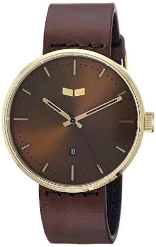 ベスタル ヴェスタル 腕時計 メンズ RS42L05.DB Vestal Roosevelt Italian Leather Stainless Steel Quartz Watch Calfskin Strap, Brown, 20 (Model: RS42L05.DB)ベスタル ヴェスタル 腕時計 メンズ RS42L05.DB