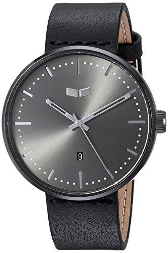 ベスタル ヴェスタル 腕時計 メンズ RS42L07.BK Vestal Roosevelt Italian Leather Stainless Steel Quartz Watch Calfskin Strap, Black, 20 (Model: RS42L07.BK)ベスタル ヴェスタル 腕時計 メンズ RS42L07.BK