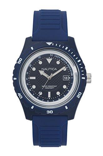 ノーティカ 腕時計 メンズ NAPIBZ005 Nautica Men's Ibiza Quartz Sport Watch with Silicone Strap, Blue, 22 (Model: NAPIBZ005)ノーティカ 腕時計 メンズ NAPIBZ005