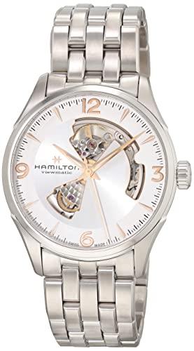 ハミルトン 腕時計 メンズ H32705151 Hamilton Jazzmaster Open Heart Auto Silver Dial Mens Watch H32705151ハミルトン 腕時計 メンズ H32705151