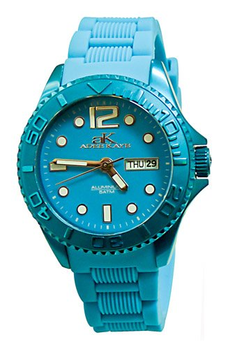 アディーケイ 腕時計 レディース アメリカ LA Adee Kaye Womens Alluminio Blue Band Blue Dialアディーケイ 腕時計 レディース アメリカ LA