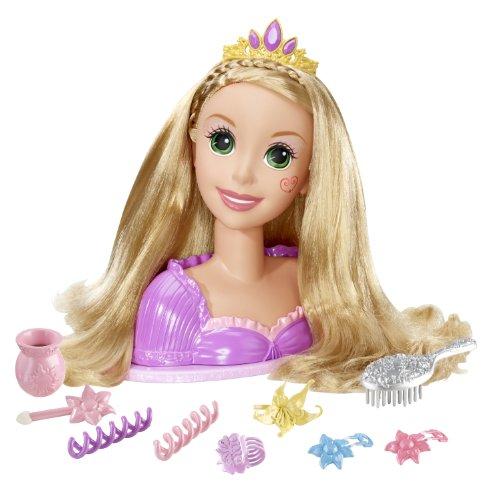 塔の上のラプンツェル タングルド ディズニープリンセス V9248 Disney Tangled Magical Makeover Rapunzel Styling Head塔の上のラプンツェル タングルド ディズニープリンセス V9248