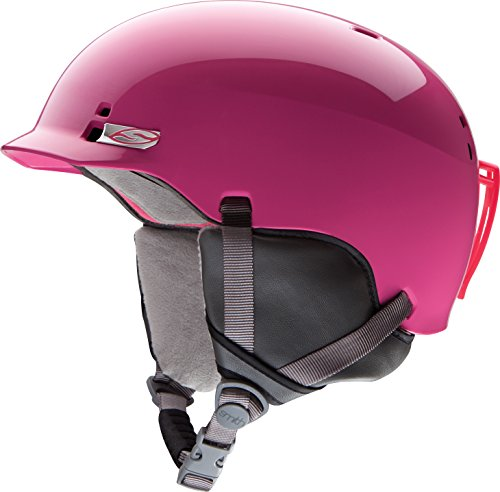 スノーボード ウィンタースポーツ 海外モデル ヨーロッパモデル アメリカモデル 【送料無料】Smith Kids' Gage Junior Helmet Bright Pink Mediumスノーボード ウィンタースポーツ 海外モデル ヨーロッパモデル アメリカモデル