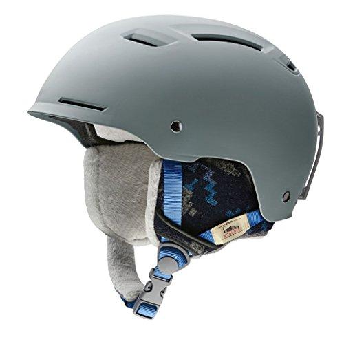 スノーボード ウィンタースポーツ 海外モデル ヨーロッパモデル アメリカモデル Smith Smith Optics Pointe Adult Ski Snowmobile Helmet - Matte Frost Woolrich/Largeスノーボード ウィンタースポーツ 海外モデル ヨーロッパモデル アメリカモデル Smith