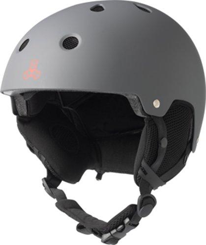 スノーボード ウィンタースポーツ 海外モデル ヨーロッパモデル アメリカモデル SK-564 Triple Eight Snow Helmet with Audio, Gun Rubber, Large/X-Largeスノーボード ウィンタースポーツ 海外モデル ヨーロッパモデル アメリカモデル SK-564