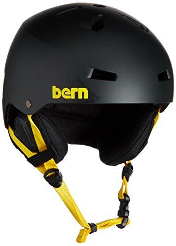 スノーボード ウィンタースポーツ 海外モデル ヨーロッパモデル アメリカモデル SM02EMBWU01 BERN Men's Macon Ski Snow Helmet Matte Black WuTang + Boa SM02EMBWU Small Meスノーボード ウィンタースポーツ 海外モデル ヨーロッパモデル アメリカモデル SM02EMBWU01