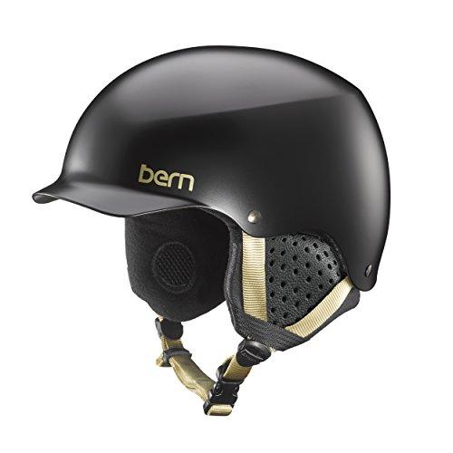 スノーボード ウィンタースポーツ 海外モデル ヨーロッパモデル アメリカモデル SW04E17SBK2 Bern Muse Snow Helmet (Satin Black with Black Liner, Medium)スノーボード ウィンタースポーツ 海外モデル ヨーロッパモデル アメリカモデル SW04E17SBK2
