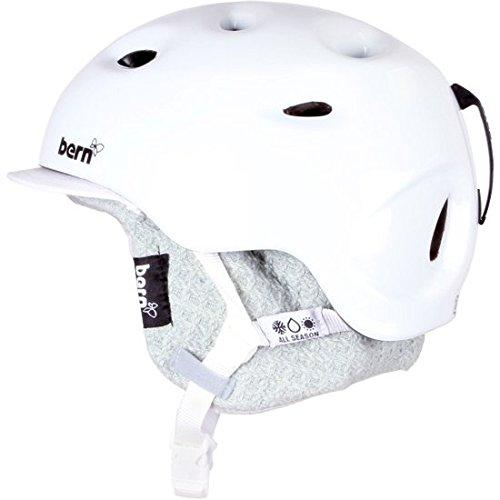 スノーボード ウィンタースポーツ 海外モデル ヨーロッパモデル アメリカモデル Bern Cougar Women's Helmet Gloss White Extra Smallスノーボード ウィンタースポーツ 海外モデル ヨーロッパモデル アメリカモデル