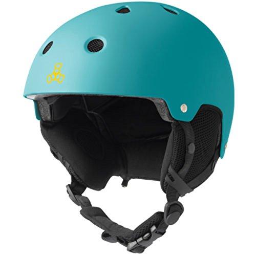 スノーボード ウィンタースポーツ 海外モデル ヨーロッパモデル アメリカモデル 1820 Triple Eight Snow Audio Helmet, Baja Teal Rubber, Small/Mediumスノーボード ウィンタースポーツ 海外モデル ヨーロッパモデル アメリカモデル 1820