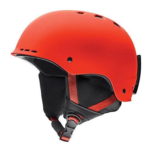 スノーボード ウィンタースポーツ 海外モデル ヨーロッパモデル アメリカモデル Smith Smith Optics Holt Adult Ski Snowmobile Helmet - Matte Sriracha/Mediumスノーボード ウィンタースポーツ 海外モデル ヨーロッパモデル アメリカモデル Smith