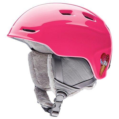スノーボード ウィンタースポーツ 海外モデル ヨーロッパモデル アメリカモデル Smith 【送料無料】Smith Optics Zoom Youth Junior Ski Snowmobile Helmet - Pink Sugarcone/スノーボード ウィンタースポーツ 海外モデル ヨーロッパモデル アメリカモデル Smith