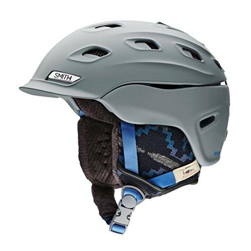 スノーボード ウィンタースポーツ 海外モデル ヨーロッパモデル アメリカモデル Smith Smith Optics Vantage Womens Ski Snowmobile Helmet - Matte Frost Woolrich/Mediumスノーボード ウィンタースポーツ 海外モデル ヨーロッパモデル アメリカモデル Smith