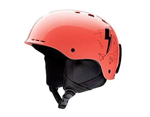 スノーボード ウィンタースポーツ 海外モデル ヨーロッパモデル アメリカモデル Smith 【送料無料】Smith Optics Youth Holt Jr Ski Snowmobile Helmet - Sunburst Doodles/Yoスノーボード ウィンタースポーツ 海外モデル ヨーロッパモデル アメリカモデル Smith