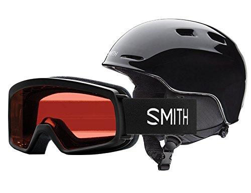 スノーボード ウィンタースポーツ 海外モデル ヨーロッパモデル アメリカモデル Smith 【送料無料】Smith Optics Unisex Zoom Jr/Sidekick Combo Helmet and Goggles, Lack - スノーボード ウィンタースポーツ 海外モデル ヨーロッパモデル アメリカモデル Smith