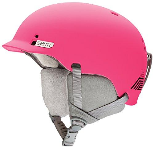 スノーボード ウィンタースポーツ 海外モデル ヨーロッパモデル アメリカモデル Smith Smith Optics Gage Jr Youth Ski Snowboarding Helmet - Crazy Pink Monaco Mediumスノーボード ウィンタースポーツ 海外モデル ヨーロッパモデル アメリカモデル Smith