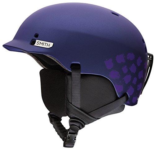 スノーボード ウィンタースポーツ 海外モデル ヨーロッパモデル アメリカモデル Smith Smith Optics Gage Jr Youth Ski Snowboarding Helmet - Matte Ultraviolet Brush Dots Mediumスノーボード ウィンタースポーツ 海外モデル ヨーロッパモデル アメリカモデル Smith