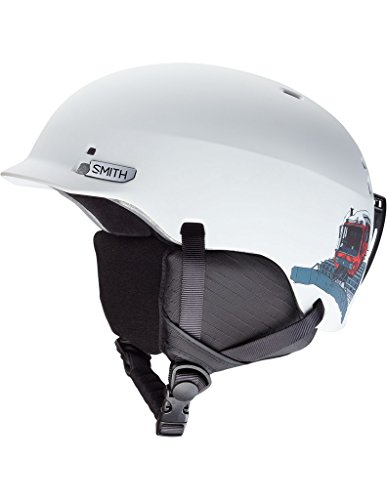スノーボード ウィンタースポーツ 海外モデル ヨーロッパモデル アメリカモデル Smith 【送料無料】Smith Optics Gage Jr. Ski Snowmobile Helmet - Matte White Vagabond/Medスノーボード ウィンタースポーツ 海外モデル ヨーロッパモデル アメリカモデル Smith