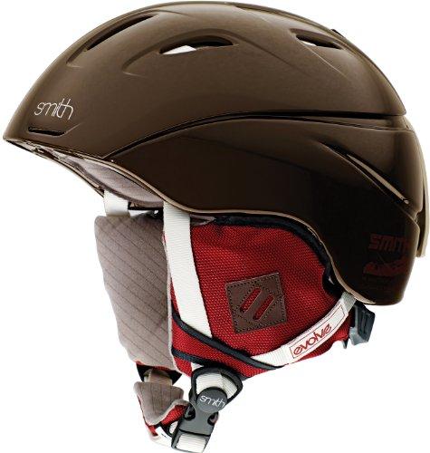 スノーボード ウィンタースポーツ 海外モデル ヨーロッパモデル アメリカモデル Intrigue Helmet Smith Optics Women's Intrigue Snow Sports Helmet (Chocolate Evolve, スノーボード ウィンタースポーツ 海外モデル ヨーロッパモデル アメリカモデル Intrigue Helmet