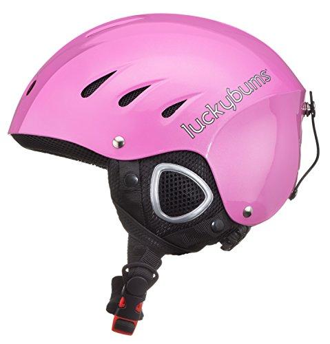スノーボード ウィンタースポーツ 海外モデル ヨーロッパモデル アメリカモデル 123FPKL Lucky Bums Snow Sport Helmet with Fleece Liner, Pink, Largeスノーボード ウィンタースポーツ 海外モデル ヨーロッパモデル アメリカモデル 123FPKL