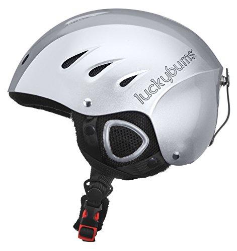 スノーボード ウィンタースポーツ 海外モデル ヨーロッパモデル アメリカモデル 123FSVXL Lucky Bums Snow Sport Helmet with Fleece Liner, Silver, X-Largeスノーボード ウィンタースポーツ 海外モデル ヨーロッパモデル アメリカモデル 123FSVXL