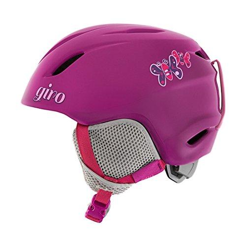 スノーボード ウィンタースポーツ 海外モデル ヨーロッパモデル アメリカモデル 7072538 Giro Launch Snow Helmet 2016 - Kid's Berry Butterflies Smallスノーボード ウィンタースポーツ 海外モデル ヨーロッパモデル アメリカモデル 7072538