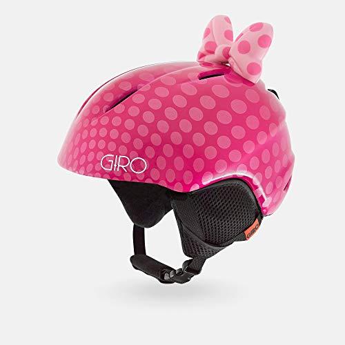 スノーボード ウィンタースポーツ 海外モデル ヨーロッパモデル アメリカモデル 7073614 Giro Launch Plus Youth Snow Helmet - Pink Bow Polka Dots - Size S (52-55.5cm)スノーボード ウィンタースポーツ 海外モデル ヨーロッパモデル アメリカモデル 7073614