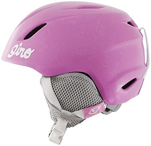 スノーボード ウィンタースポーツ 海外モデル ヨーロッパモデル アメリカモデル 7060694 Giro Launch Childrens Ski Helmet Pink Notebook Smallスノーボード ウィンタースポーツ 海外モデル ヨーロッパモデル アメリカモデル 7060694